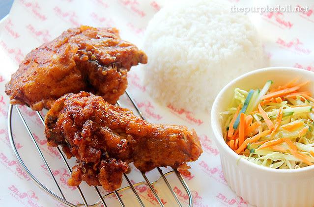 Chili Garlic Chicken Meal (P175 Lunch; P245 Dinner)