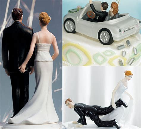 Fun tastic Wedding Cake Toppers   One Stylish Bride