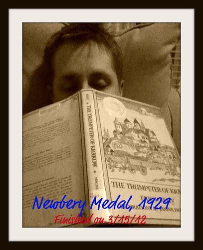 Newbery Challenge - The Trumpeter of Krakow