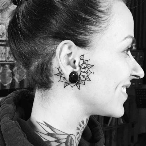 tiny cute ear tattoos designs ideas