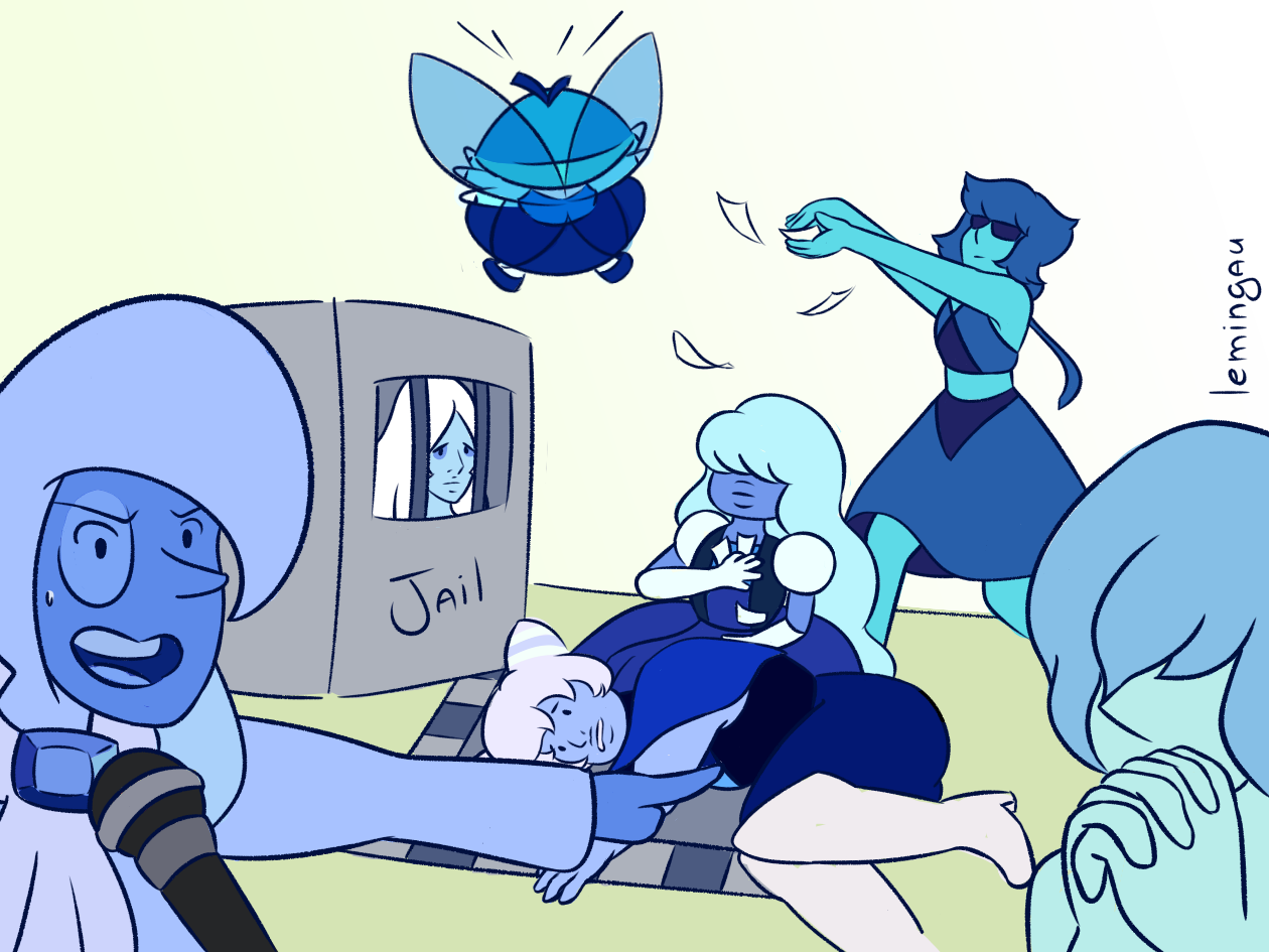 Blue gem group just grew enough to fit the draw the squad meme