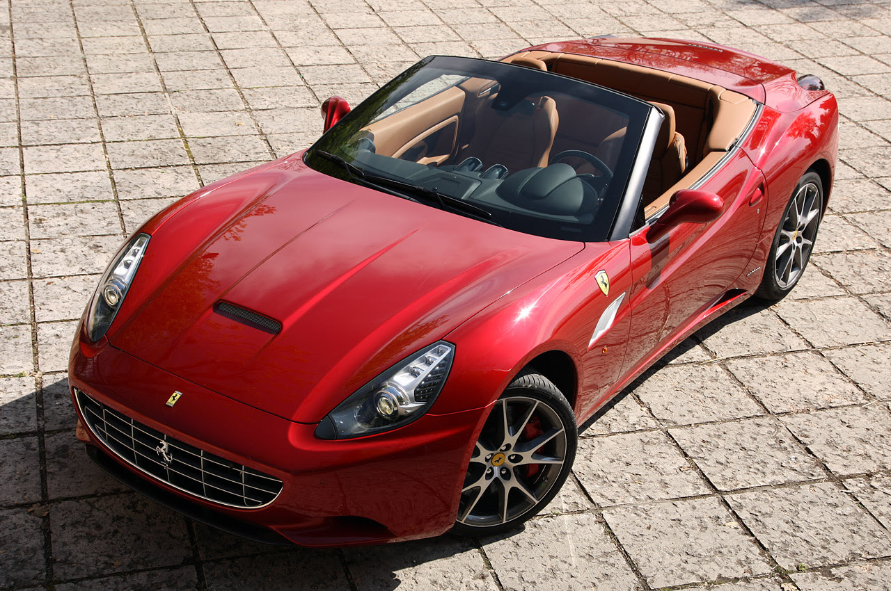 Ferrari California spied with a different sound   Motor ...