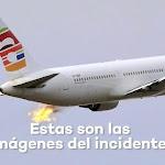 תיעוד: הפיצוץ והאש מהמנוע בטיסה מברצלונה לישראל - ynet ידיעות אחרונות