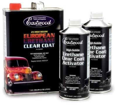 Eastwood urethane clearcoat gallon kit clear coat paint oils fluids for One coat exterior paint reviews