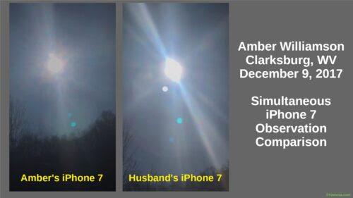 Amber Williamson, Comparison