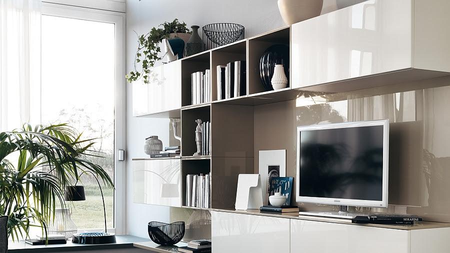 Modular Living Area, Kitchen Compositions Versatile Trendy ...