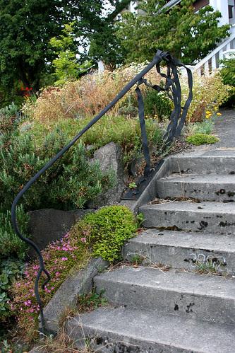 seaweed stair railing