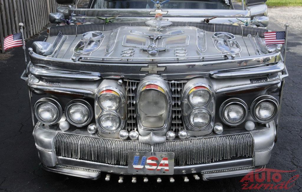 Uma limusine feita de ferro-velho que vale 1 milhão de dólares 09