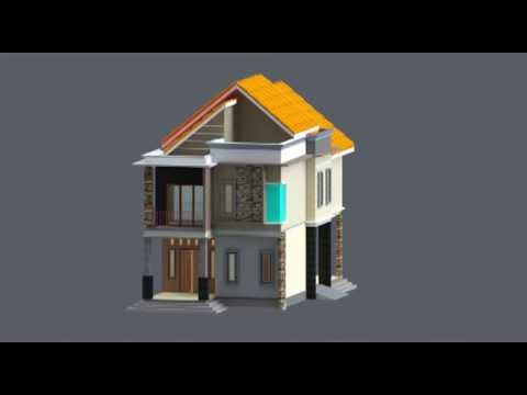 ketahui model rumah minimalis sederhana, video gambar