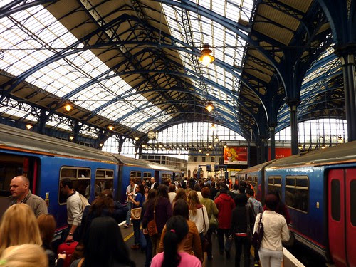 01 - Arriving into Brighton Station