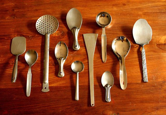 84/366: Part 1: ladles & spoons...