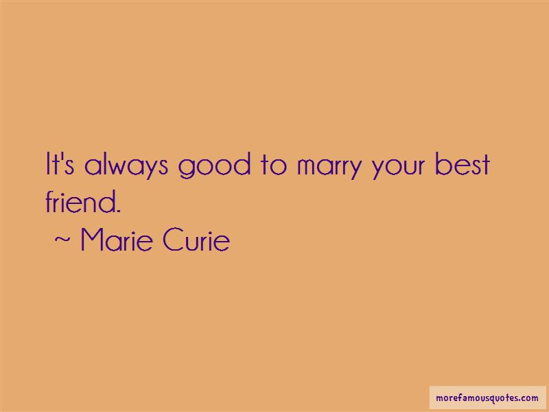 Marry Your Best Friend Quotes