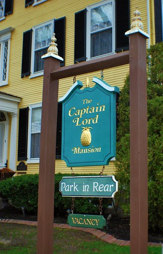 Captain Lord Mansion Sign