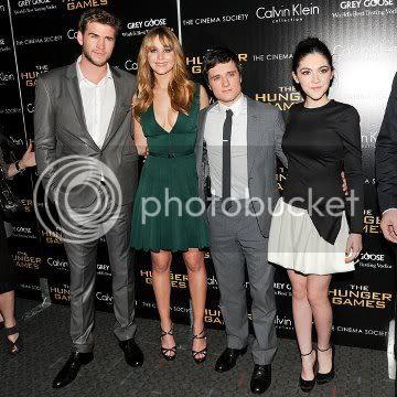 Hunger Games NYC Premiere Jennifer Lawrence Calvin Klein