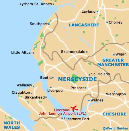 Liverpool Maps: Maps of Liverpool, England, UK