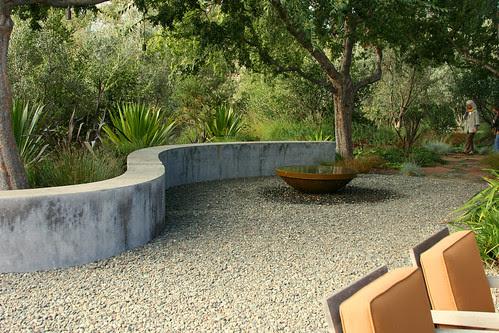 curvy bench