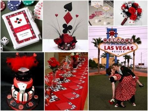 Las Vegas Poke Themed Wedding Inspiration and Party Favors