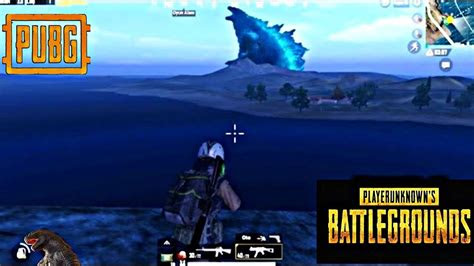 pubg mobile godzilla update   secret location