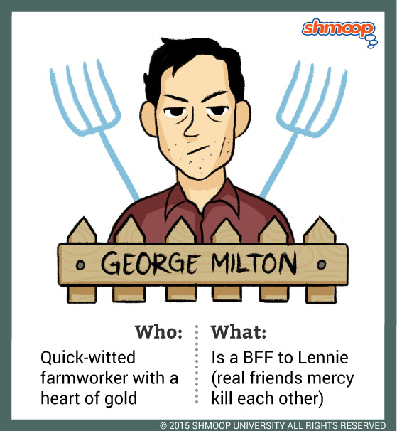 George Milton in Of Mice and Men