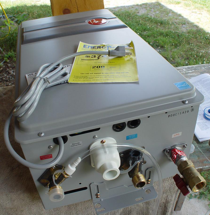 Tankless Water Heater Wiring Diagram