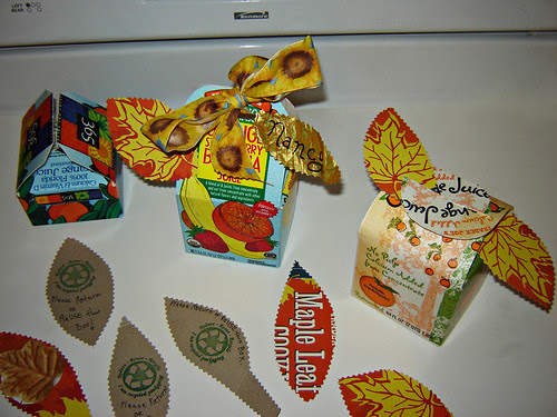 Juice Box Gift Containers ~ 1 of 2 photos