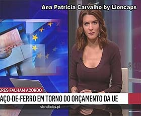 Ana Patricia Carvalho a sensual jornalista da Sic Noticias