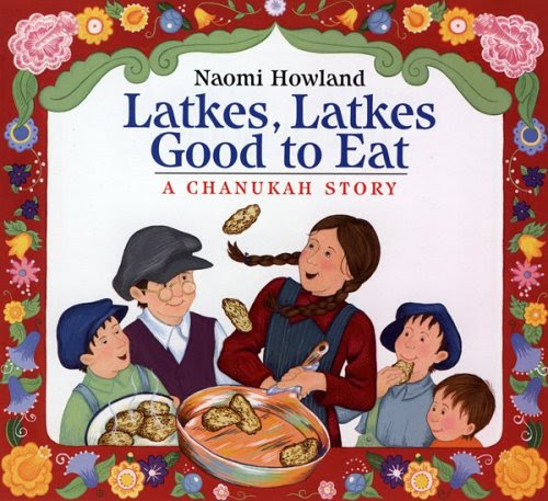 http://www.amazon.com/Latkes-Good-Eat-Chanukah-Story/dp/061849295X/ref=sr_1_1?ie=UTF8&qid=1438653948&sr=8-1&keywords=latkes+latkes+good+to+eat