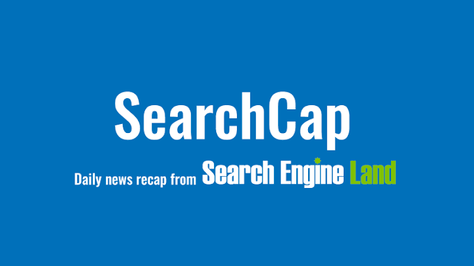 SearchCap: Google Express search promo, SEO goals & search pictures