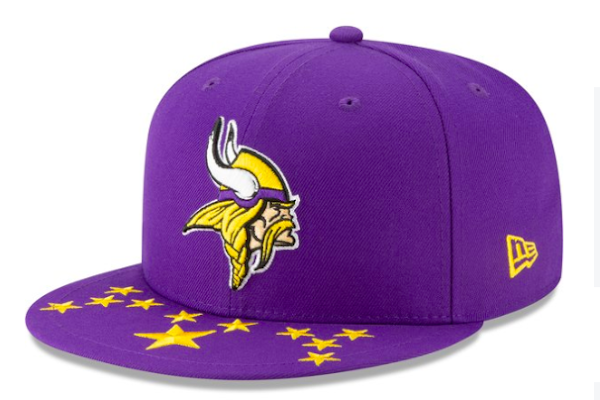 6da18f82d20cb NFL Draft hats released for Minnesota Vikings