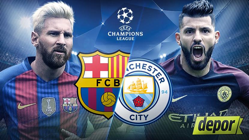 Resultado de imagen de Barcelona vs Manchester City