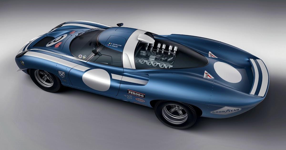 Jaguar XJ13 Racer | Ecurie Ecosse LM69 - Now This Is A ...