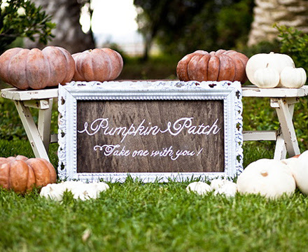 Wedding Reception Ideas Pumpkin Decor Posted Thursday October 29