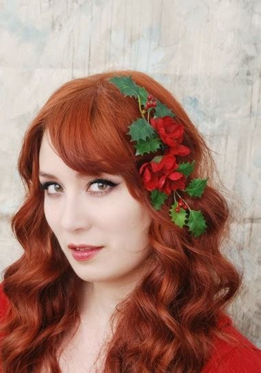 Christmas Hairstyles Trendy ideas and New Year's Eve