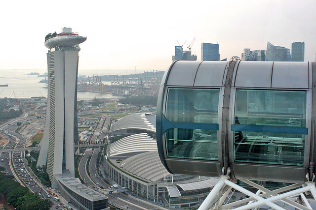 Spicy adventures aboard the Singapore Flyer