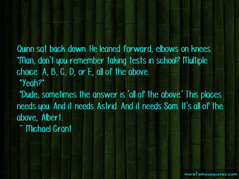 Quotes About Tests In School Top 37 Tests In School Quotes From