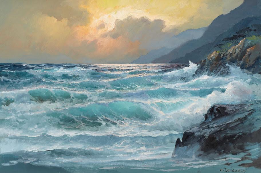 El Infinito Tema Del Mar En La Pintura Pintura Y Artistas