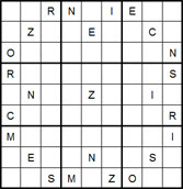 Mystery Godoku Puzzle for March 02, 2015