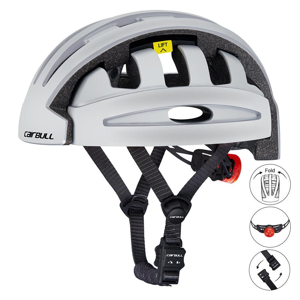 City Leisure Bicycle Electric Scooter Balance Bike Folding Riding Helm Dzzg