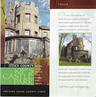 Kip's Castle brochure by Essex County, N.J.