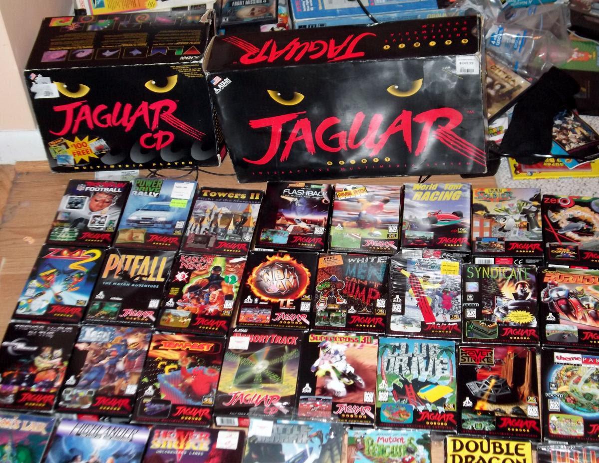Atari Jaguar + Jaguar CD with 58 games, - Buy, Sell, and Trade - AtariAge Forums