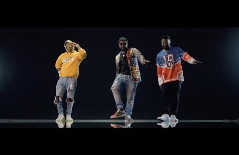 Download or Watch(Official Video) Skales ft Harmonize, Falz – Oliver twist II [Remix]
