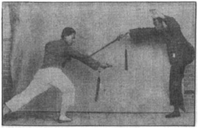 《昆吾劍譜》 李凌霄 (1935) - technique 8