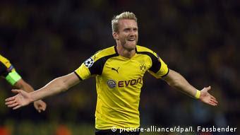 Fußball UEFA Champions League Borussia Dortmund - Real Madrid Andre Schürlle (dpa/I. Fassbender)