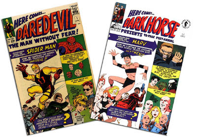 Daredevil #1 and Dark Horse Presents #57