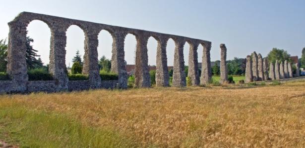 O aqueduto romano de Luynes: o uso racional da água garantiu a longevidade do império