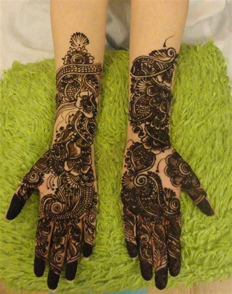 Bridal Mehndi Day Henna Designs For Girls   XciteFun.net