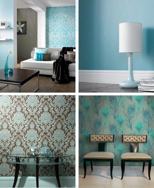 Turquoise Decor | Room Decorating Ideas