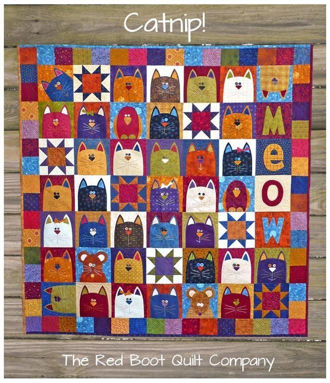 Catnip! Quilt Pattern