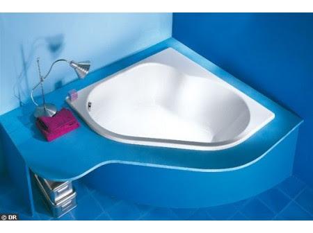 La Baignoire D Angle Balneo Option Bien Etre Equipements Confort Ideesmaison Com