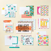 Let's Get Away Project Life Card Collection